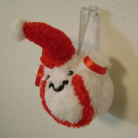 Palpitoad Snowball Ornament by sorjei