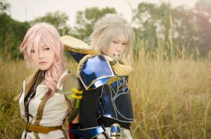 Lightning and Warrior of Light: Duodecim by SakuMiyuku