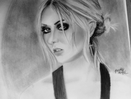 Taylor Momsen - Samantha Thavasa 2013 by DeadlyAngel-Drawings