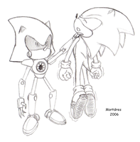Metal Sonic Win by Mortdres