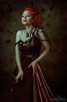 Goddess of Autumn II by Silver-Pearl-Photo
