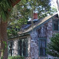 Old Southern House in Beaufort, South Carolina by winterface