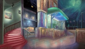Best Bar in Town by thraxllisylia