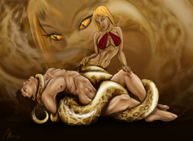 Serpent's Grasp by Phoenix-Cry