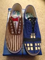Doctor who shoes by RegalPrincess
