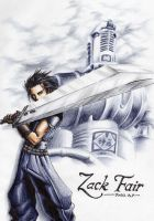 :Commission: Zack - FF7 Fanart by valandro23
