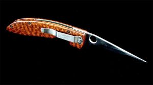 Snakewood knife by lieinbelieve