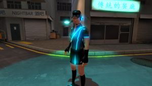Tron Femscout (Without sceen Effect) by Mitziwho