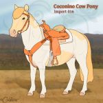 Coconino Cow Pony - Import 016 (SOLD) by daggerstale
