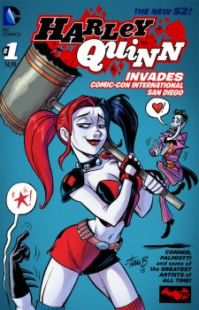 Harley Cover- COLOR by tombancroft