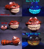 Cheshire Cat Converted Pipe by Undead-Art