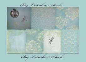 Soft Blue Texture Pack by letinhastock