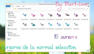 Cursores de la normal seleccion by meri-love by meri-love