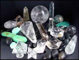 My Stone Collection - Part 1 by andromeda