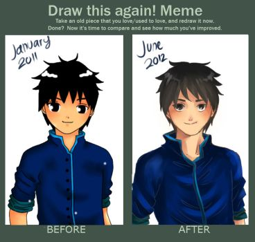 Meme: Before and After by talifia