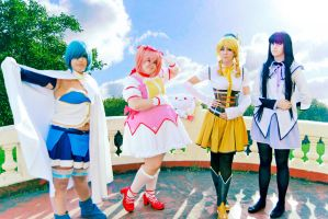 Mahou Shoujo Madoka Magica - At your service! by CherryMemories