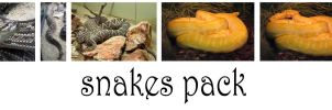 snakes pack by syccas-stock
