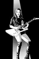 Lzzy Hale of Halestorm - With ZIP by frostdusk