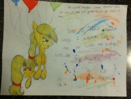 Yeah, Applejack don't want Easy.. by catz537