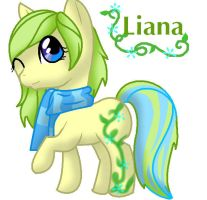 MLP: Liana by Sahirathedragoness