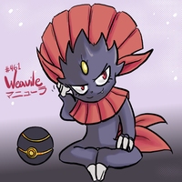 Weavile by cyberill