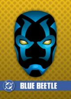 Blue Beetle - HeadShot by LegoStroke