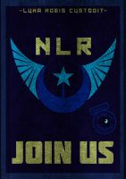 NLR Poster by SassakiSan