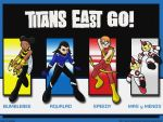 TT- Go Titans East :Wallpaper: by chaneljay
