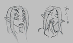 Tasu Faces by KarolineDianne