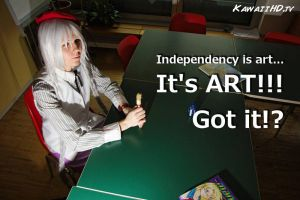Independency is ART! by endless--rain