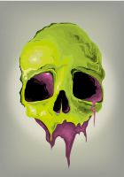 vector skull by phsdesign