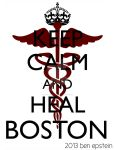 Keep Calm and Heal Boston by superbenny111