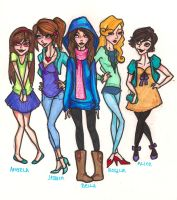 girls of forks by mox-ie