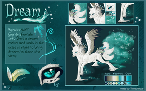 Ref Sheet: Dream. by Snow-Body