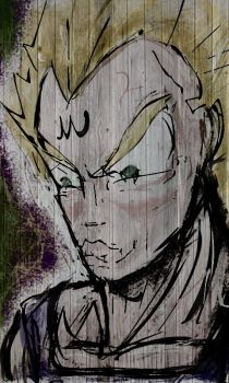 Vegeta by omarvillarrealmora