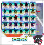 Dark Evolution Chao Chart by V1ciouzMizzAzn