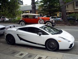 Lambo Superleggera Cadillac 16 by Partywave