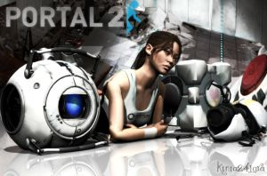 Portal 2 My Render by Kinia24Lara