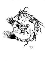 Ink Dragon Design by Silgan