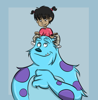 SulleyandBoo by Foreveryoung8