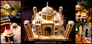 Gingerbread House 2008 by mistymoonlight