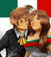 mexico AT by HiyoKinomono