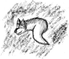 Wolfiloid from MyPaint by wwwwolf
