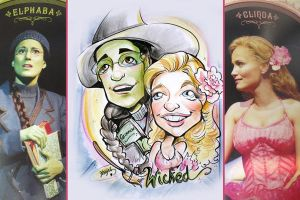 Wicked Caricature by StarMasayume