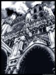 Amiens Cathedral. by zHowie