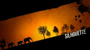 Africa Silhouette by leoaw