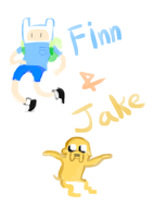 finn and jake by reveriespecies