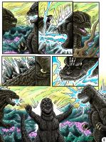 Godzilla: Kings and Brothers, Page #8 by kaijukid
