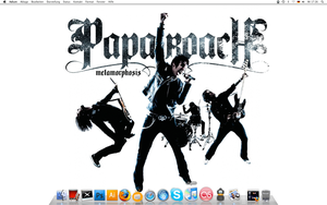 Papa roach Desktop by shadixART
