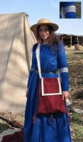 Brahdelt's 13th Century Gown by HistoricCostume